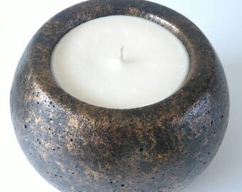 Half price Extra Large  Concrete Soy Candle
