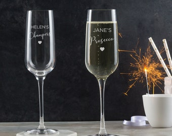Personalised Prosecco Glass - Friend Gifts For Women