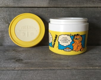Vintage Garfield Comic Strip Insulated Thermos
