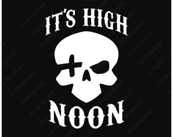 Overwatch It S High Noon Car Vinyl