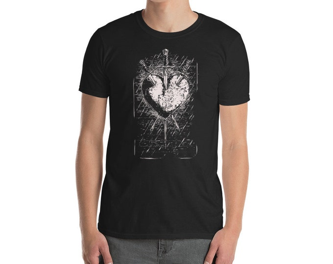 Three of Swords Unisex Tee