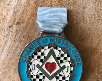 Masonic medal.