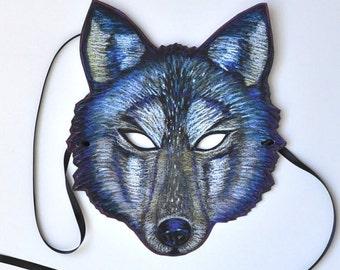 Large Wolf Mask