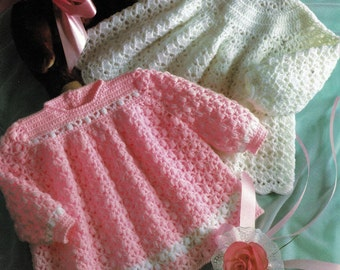 Babies Crochet  Angle Tops in 4 Ply, Vintage Knitting Crochet, PDF, Digital Download