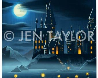 Hogwarts Mini Print