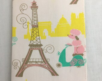 Eiffel Tower Passport Cover, Passport Holder, Passport Protector, Passport Case