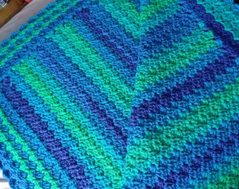 Lapis Color Waves, Baby blanket