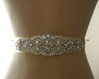 Wedding Belt, Bridal Belt, Bridesmaid Belt, Sash Belt, Wedding Sash, Bridal Sash, Belt, Crystal Rhinestone & Pearl