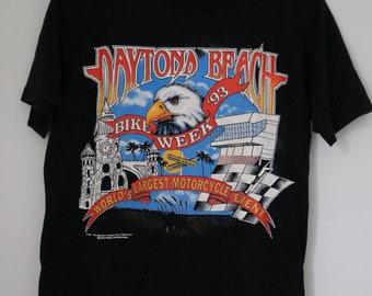 Vintage 1993 Daytona Bike Week Tshirt