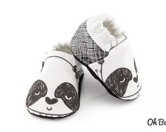 Baby Soft Sole Shoe - Panda