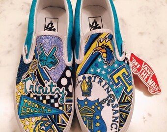 Trinity College Custom Sneakers