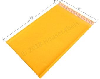 "100 Bags #3 8.5X14.5 KRAFT Bubble Padded Envelope Interior 8.5"" x 13"""