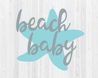 Beach Baby - SVG Cut File