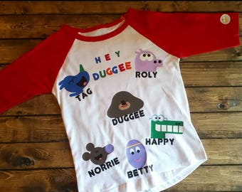 HEY DUGGEE shirt for toddlers and youth