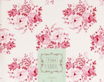 Fabric coupon 50/55 cm, fabric tilda 50 / 55cm, mia pink, patchwork, clothing