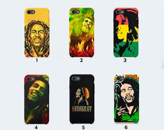 Bob Marley Phone Case for iPhone X iPhone 8 Plus 7 Plus iPhone 6 6S Plus iPhone 5 5S SE Samsung Galaxy S7 Edge S8 Plus