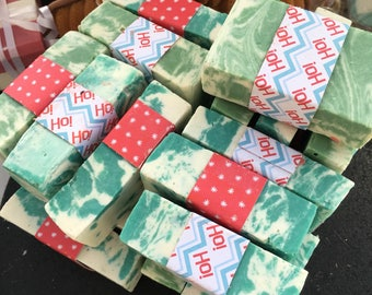 Christmas Pine Tree Scented Guest/Gift soap