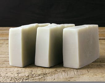 Lemon Eucalyptus & French Clay Soap / Handmade / Vegan / Palm Oil Free / Essential Oil Soap / Natural Soap