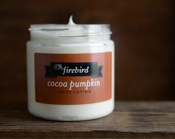 Lotion pour le corps citrouille cacao - automne Lotion, édition limitée