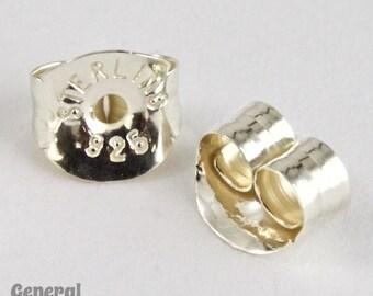 Sterling Silver Earring Clutch #BSA022