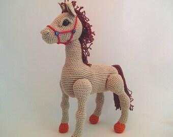 Horse, Unicorn & Pegasus - 3-in-1 PDF Crochet Pattern [Instant Download]