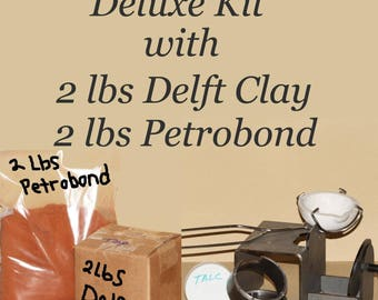 Deluxe Combo Kit, Delft Clay, Petrobond, Sand Casting Kit, Sand Casting, Jewelry Making Tool, Casting Equipment, Casting,