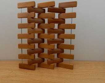 1:12 Scale Modern or Mid-century Modern Screen or Room Divider
