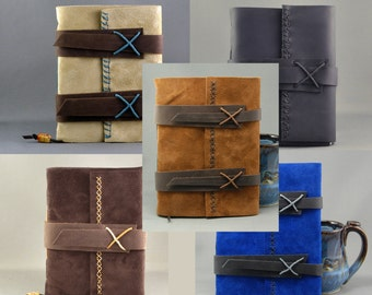 Customize Your Own Handmade Leather Journal
