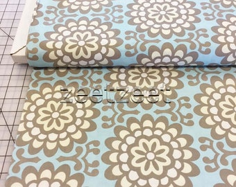 WALL FLOWER SKY Blue Amy Butler Quilt Fabric - by the Yard, Half Yard, or Fat Quarter Fq - Out of Print