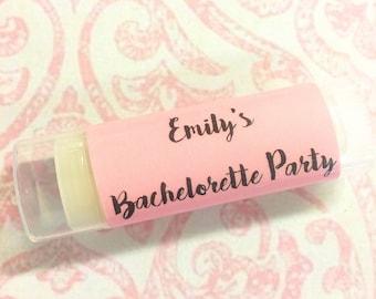 Personalized Bachelorette Party Favor, Bachelorette Party Favor, Bachelorette Party, Bachelorette Lip Balm, Bachelorette Gift/Gift for Bride