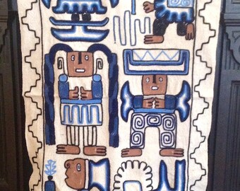 Andean Handwoven Tribal Table Runner / Wall Hanging