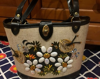 60s Enid Collins Style  Bag