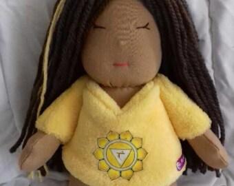 Solar plexus chakra doll * Manipura *.