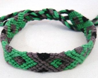 friendship bracelet from coton thread, boys gift