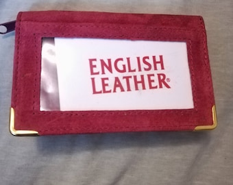 Vintage English Leather Wallet.