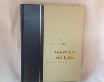 Rand McNally World Atlas 1964 World Atlas