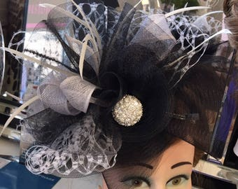 Handmade Steampunk style Hatinator. Ideal for Races, weddings, formal events.