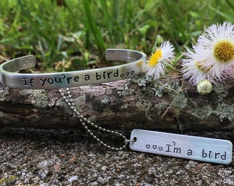 The notebook inspired gift set | if youre a bird... Im a bird | Nicholas sparks | his and her gifts