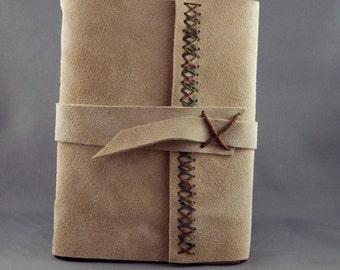 Handmade Journal with Lined Parchment Paper