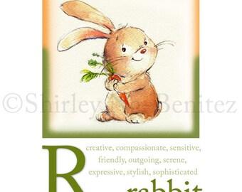 R ist für Kaninchen