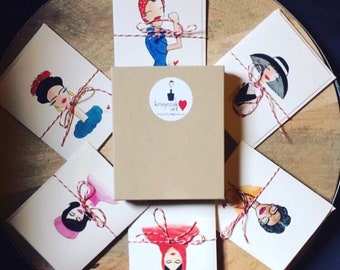 Inspiring Women Box of Notecards