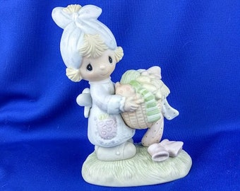 MIB - Be Not  Weary In Well Doing - Precious Moments Figurine