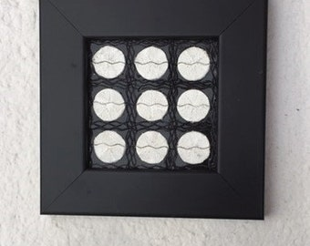 Black with White Art