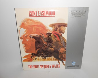 The Outlaw Josey Wales 1976 Clint Eastwood Extended Play Laserdisc