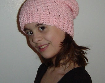 Kids Slouch Beanie Hat You Choose Color