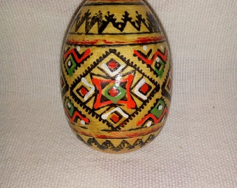 Mexican crafts wooden egg