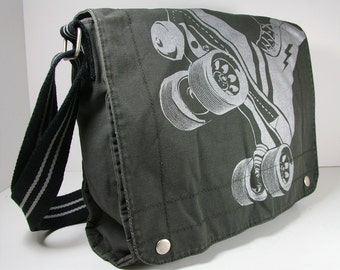 FTR Canvas Field bag -- Charcoal