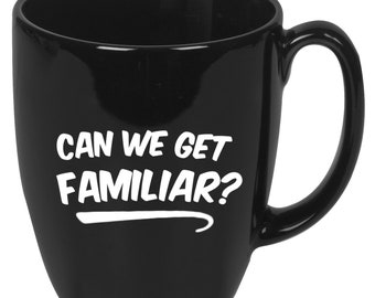 "Liam Payne / J. Balvin ""Can We Get Familiar?"" Coffee Mug"