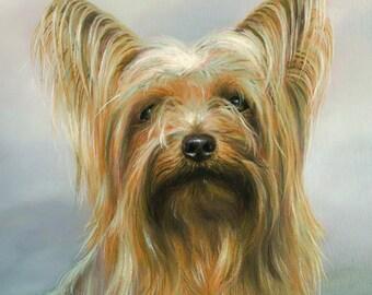 Yorkshire Terrier Garden Flag