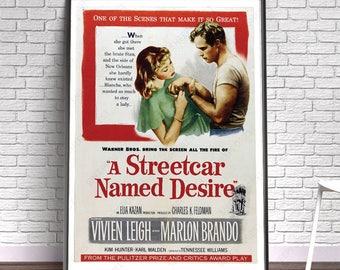A Street Car Named Desire - Film, Movie, Poster